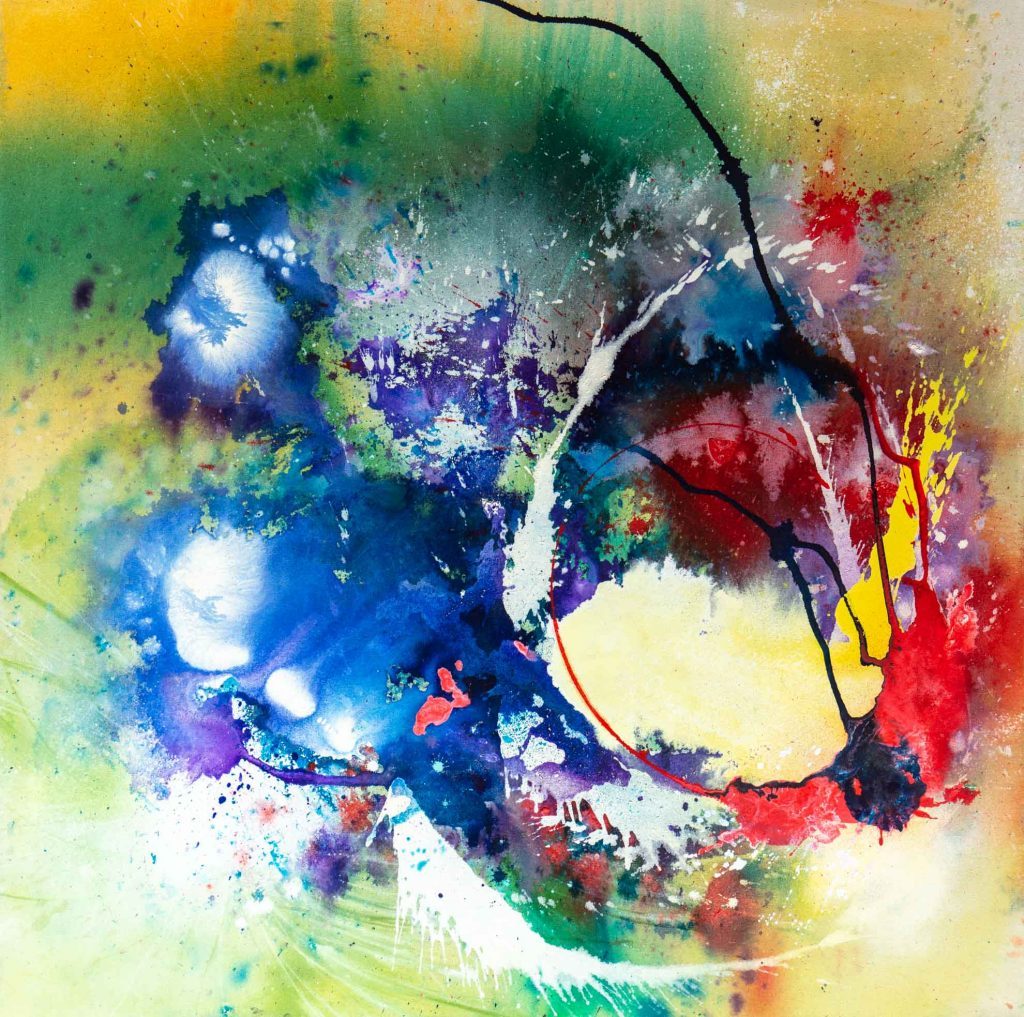 abstract painting small 3