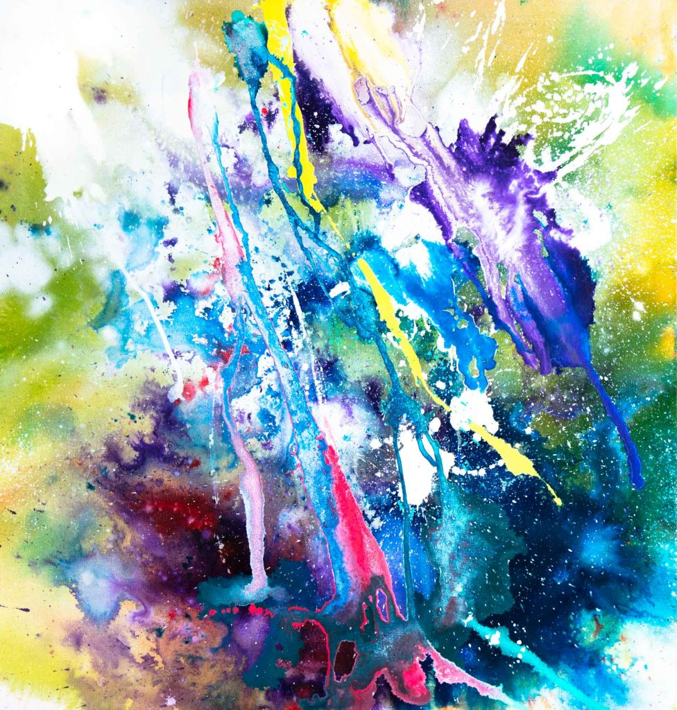 abstract painting small 2