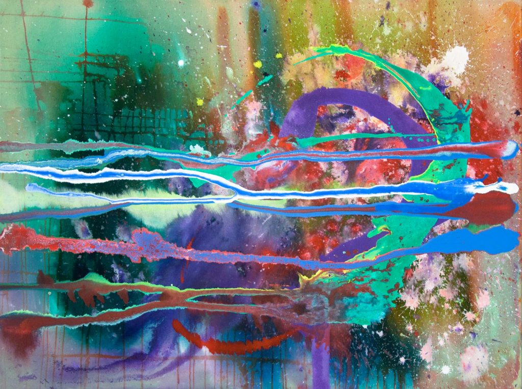 abstract painting small 5